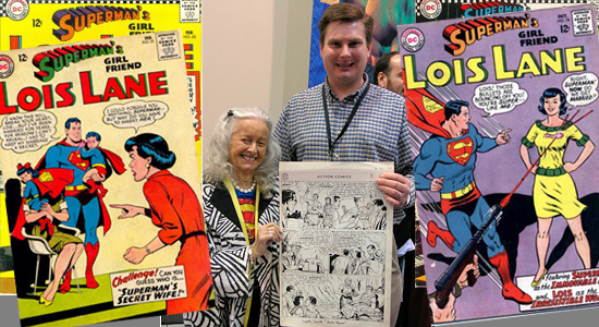 Superman TV Show's Lois Lane, Noel Neill with Jeff O'Bryant