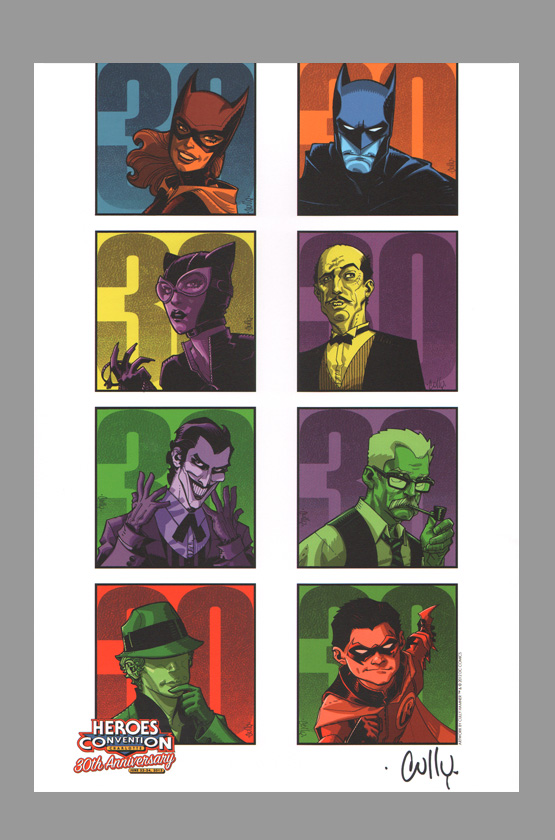cully-hamner-batman-heroes-con-exclusive-art-print-joker-catwoman-the-question