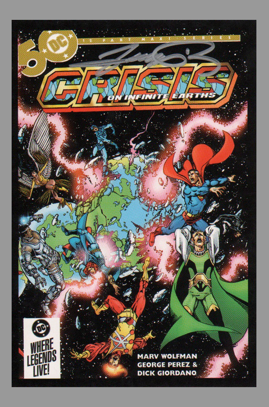 george-perez-crisis-on-infinite-earths-signed-art-post-card