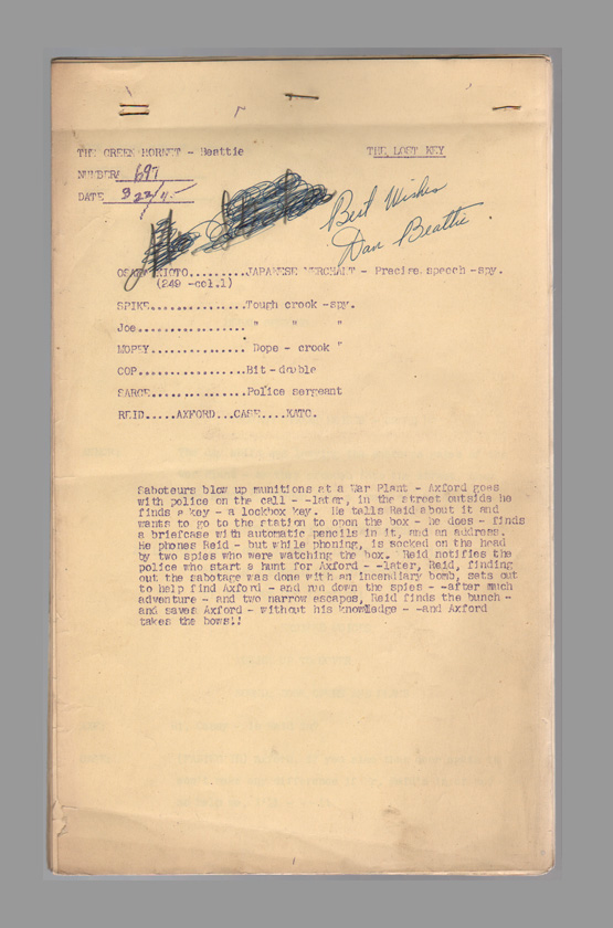 green-hornet-otr-original-radio-script-golden-age-of-2