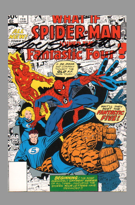 joe-sinnott-what-if-1-fantastic-four-spiderman-thing-art-card