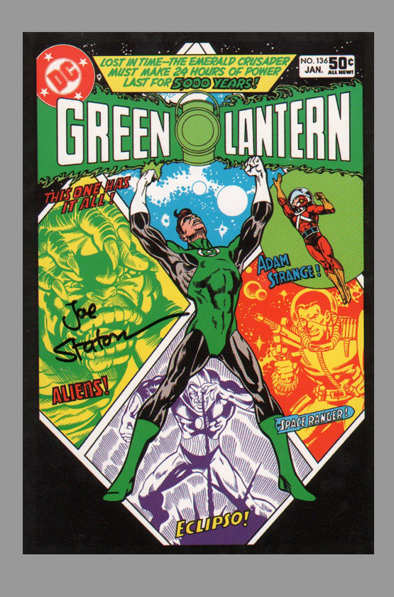 joe-staton-signed-green-lantern-art-post-card