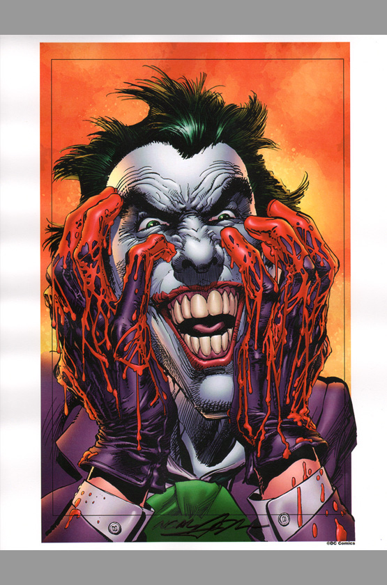 neal-adams-signed-autographed-comic-art-print-batman-the-joker