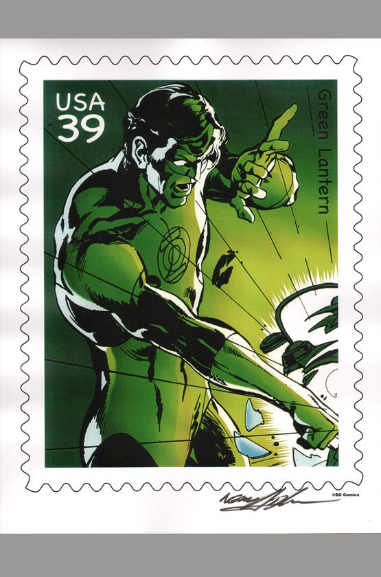 neal-adams-signed-autographed-comic-art-print-green-lantern-green-arrow-classic-cover-1