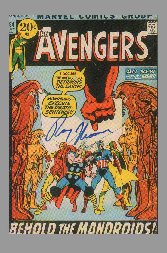 roy-thomas-signed-avengers-marvel-art-post-card-1