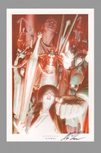 alex-ross-autograph-jla-justice-league-art-print-zatanna-teen-titans-red-tornado-supergirl-art-print-11