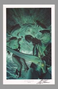 alex-ross-autograph-justice-league-jla-art-print-green-arrow-black-canary-9
