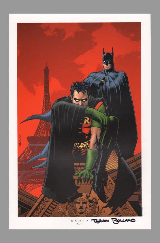 brian-bolland-dc-direct-signed-autograph-batman-robin-comic-art-print