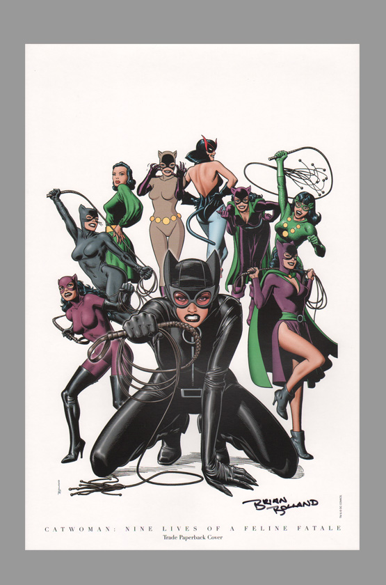 brian-bolland-signed-dc-direct-comic-art-print-catwoman-1