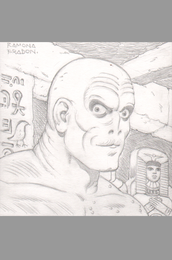 ramona-fradon-original-art-sketch-brave-and-the-bold-metamorpho