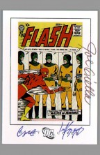 carmine-infantino-joe-giella-the-flash-105-cover-art-card-dc-archives-art-chase-card-1
