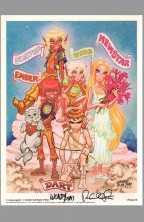 wendy-richard-pini-elfquest-elf-quest-fantasy-art-print-signed-autograph-signature-suntop-wing-emper-newstar-dart