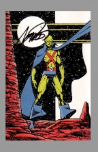 george-perez-justice-league-of-america-jla-art-post-card-signed-autograph-martian-manhunter