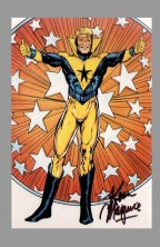 kevin-maguire-justice-league-international-jli-art-post-card-signed-autograph-booster-gold
