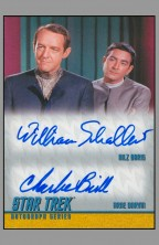 william-schallert-charlie-brill-nilz-baris-arne-darvin-trouble-with-tribbles-star-trek-tos-episode-signed-signature-autograph-trading-card-rittenhouse-archives-packpulled-pack-pulled-1