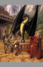 19-larry-elmore-signed-autograph-out-of-the-darkness-dragonlance-black-dragon-tsr-signature-art-print-original-sketch-1