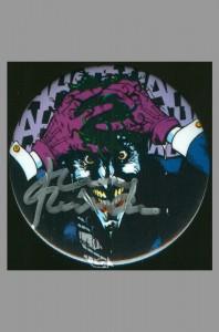 batman-50th-anniversary-pin-back-button-signed-autograph-signature-jerry-robinson-joker-killing-joke-brian-bolland