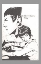 joe-corroney-original-comic-art-cover-star-trek-idw-spock-uhura-1