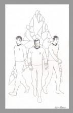 kevin-maguire-original-comic-art-cover-star-trek-idw-kirk-spock-mccoy-bones-1