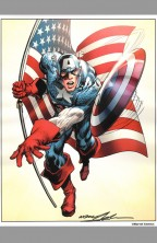 neal-adams-signed-signature-autograph-avengers-comic-art-print-captain-america-1