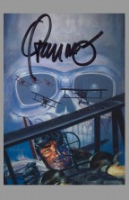 signed-signature-trading-art-card-jim-steranko-autograph-enemy-ace-fighter-piolt-1