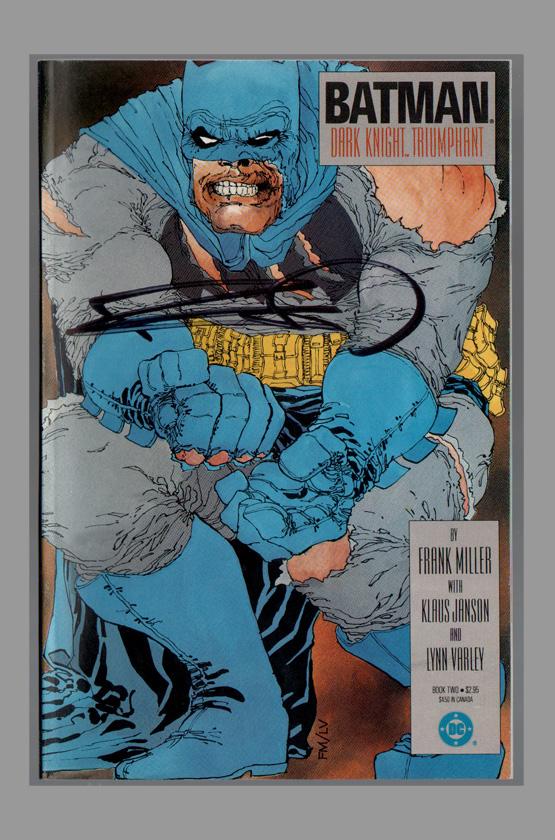 Je viens de lire... Batman-the-dark-knight-returns-signed-autograph-signature-frank-miller-personal-collection-copy-coa-cbldf-2