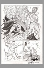 billy-tucci-original-comic-art-page-batman-superman-joker-catwoman-1