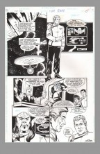star-trek-tos-original-comic-art-page-rod-whigham-original-series-uss-enterprise-starship-worf-checkov-kirk-sulu-uhura-bones