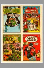 1969-1970-dc-comics-sticker-test-market-trading-card-art-signed-autograph-signature-from-beyond-the-unknown-issue-1-joe-kubert