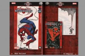ultimate-spiderman-spider-man-100-project-signed-autograph-signature-george-perez-mark-bagley-arthur-suydam-5