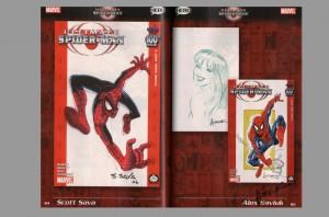 ultimate-spiderman-spider-man-100-project-signed-autograph-signature-george-perez-mark-bagley-arthur-suydam-7