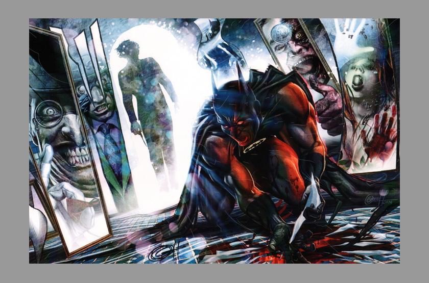 Batman Art Print Batman Comic Art Print