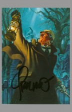 sherlock-holmes-signed-autograph-signature-jim-steranko-art-card-front-fpg-1