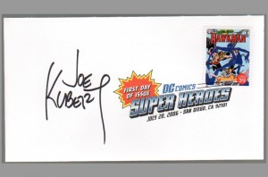 2006-usps-super-heroes-comic-art-stamp-signed-autograph-dc-fdi-first-day-issue-sdcc-joe-kubert-hawkman