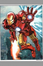 neal-adams-signed-autograph-comic-art-print-avengers-iron-man-1