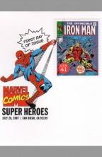 usps-super-hero-comic-art-stamp-signed-autograph-signature-gene-colan-iron-man