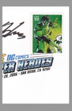usps-super-hero-comic-art-stamp-signed-autograph-signature-neal-adams-green-lantern-x-1