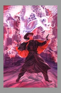 alex-ross-original-art-cover-painting-the-shadow-knows-annual-2