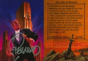 doc-savage-jim-steranko-signed-autograph-art-card-1