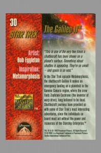 1993-star-trek-master-series-masterseries-masterpieces-signed-autograph-signature-art-card-bob-eggleton-shuttlecraft-galileo-tos-original-series-2