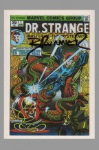 frank-brunner-signed-signature-autograph-dr-doctor-strange-marvel-famous-covers-trading-art-card