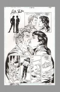 star-trek-original-comic-art-page-signed-signature-autograph-william-shatner-james-t-kirk-peter-david-arnie-starr-1