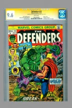 defenders-10-cgc-ss-signed-signature-series-autograph-stan-lee-john-romita-classic-cover-hulk-thor-battle-1