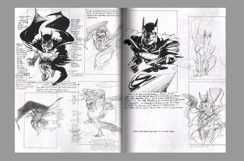 El arte del comic y la ilustración Neal-adams-signed-signature-autograph-sketches-sketch-book-tarzan-superman-batman-dragon-5