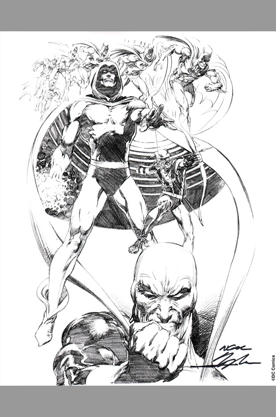 El arte del comic y la ilustración Neal-adams-signed-comic-art-print-autograph-signature-dc-spectre-green-arrow-deadman-batman-1