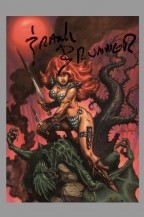 frank-brunner-signed-signature-autograph-red-sonja-back-to-basics-trading-card-art-1