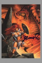 frank-brunner-signed-signature-autograph-red-sonja-back-to-basics-trading-card-art-3