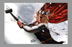 greg-horn-signed-signature-autograph-comic-art-print-avengers-mighty-thor