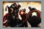 greg-horn-signed-signature-autograph-marvel-comic-art-print-avengers-iron-man-captain-america-thor-1