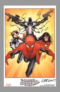 greg-horn-signed-spiderman-spider-man-spider-woman-comic-art-print-1